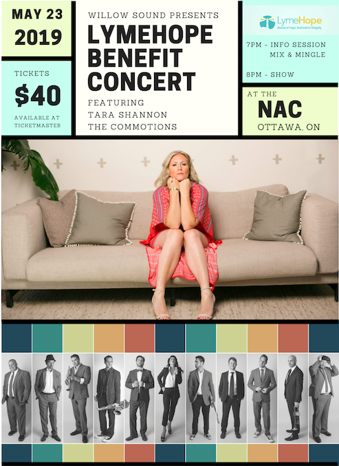 Inaugural LymeHope Benefit Concert with Tara Shannon and The Commotions